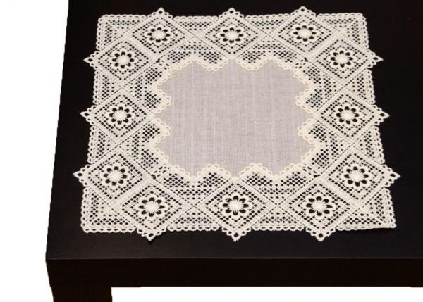 rusitkale Tischwäsche mit Spitze 30x30 cm