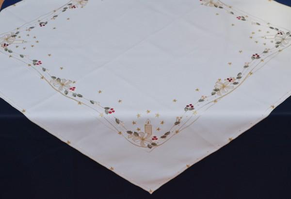 Tischläufer Veilchen oval 40x85 cm