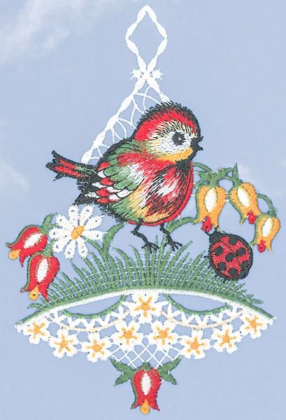 Fensterbild Vogel