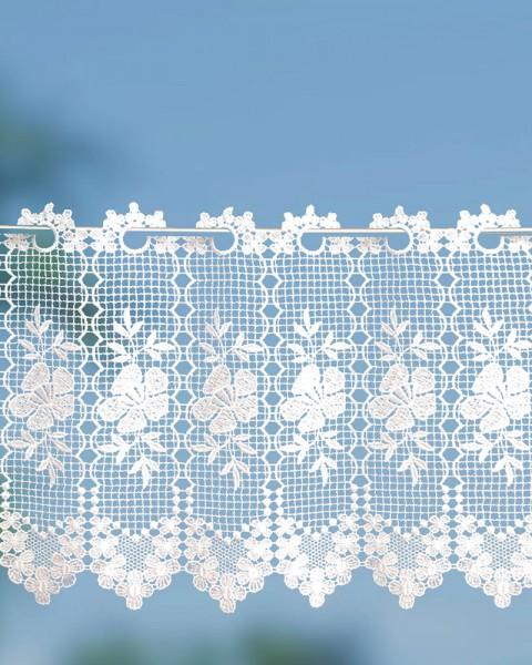 Spitzengardine Landhausstil im klassischen Stil