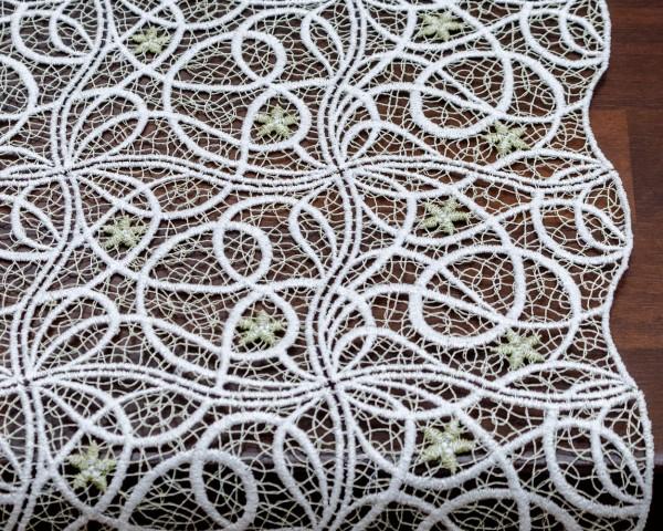 Mitteldecke Laura 40x40 cm beige oder grün