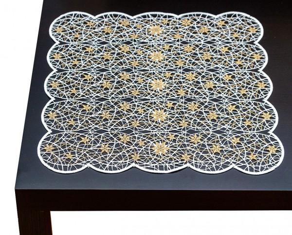 Mitteldecke Sterne 43x43cm