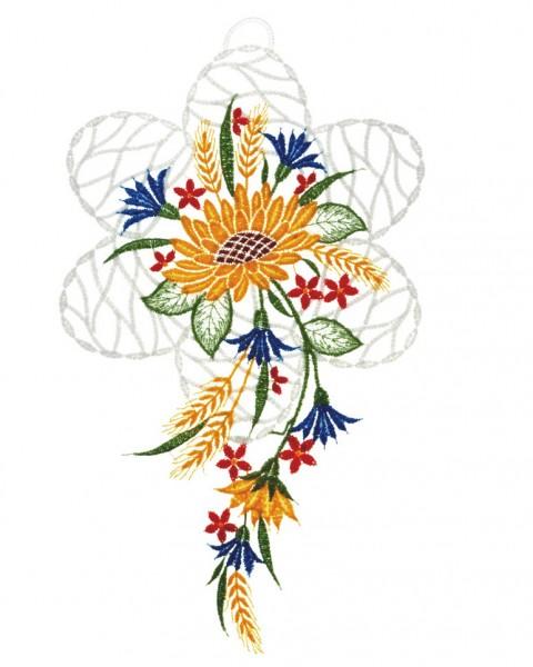 Fensterbild Sonnenblume
