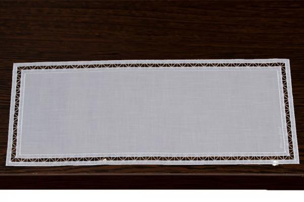 Tischläufer Lara in weiß