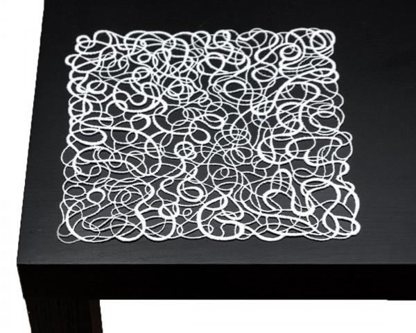 zartes Deckchen aus purer Spitze Alexia 23x23 cm