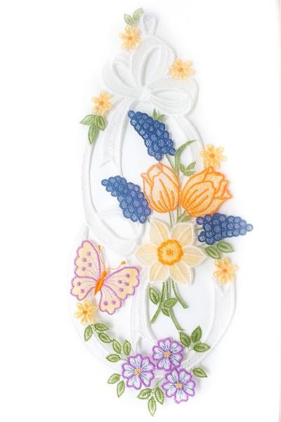 Fensterbild Frühlingsblumen