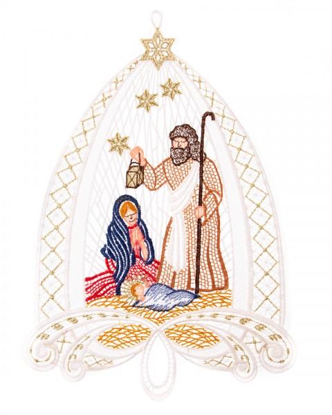 Fensterbild Christi Geburt