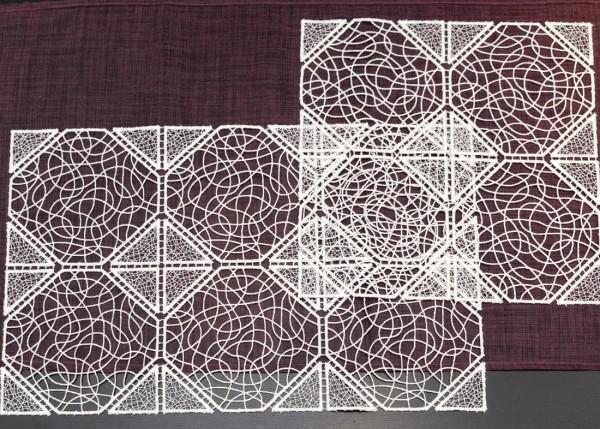 Deckchen aus Spitze Design Manila