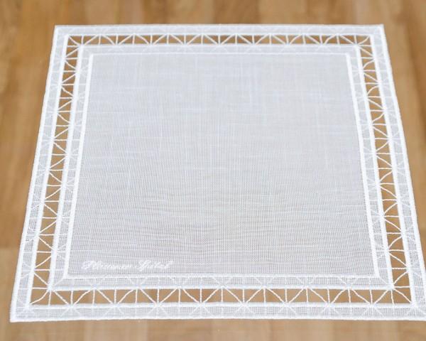 Deckchen Lara eckig 26x26 cm