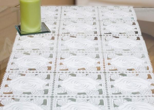 Tischläufer Design Rose